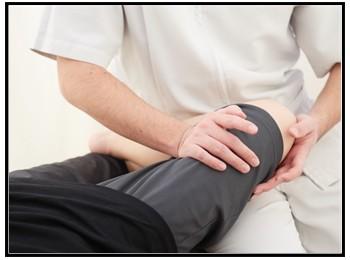 ひざの痛み写真