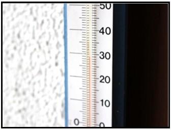 温度の画像