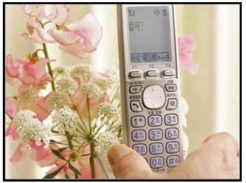 家の電話画像