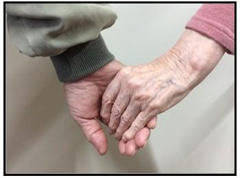 手を持つ写真