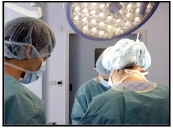 手術の写真