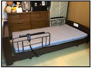 電動ベッドの写真