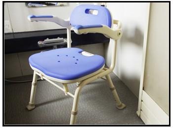 介護風呂椅子の写真