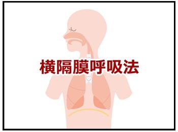 横隔膜呼吸法