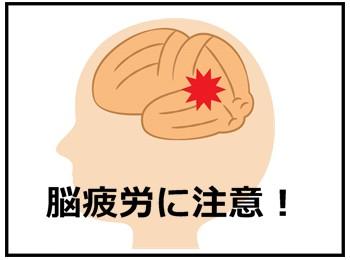 脳疲労の画像