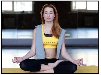 マインドフルネス瞑想の画像